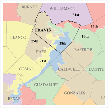 Map Of Texas Districts.Ana Jordan For Texas House District 47